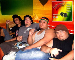 HaleAmanO - left - right: Kino, Robert, Iz, Ryan