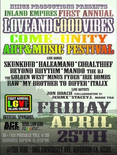 Inland Empire Love And Good Vibes Festival
